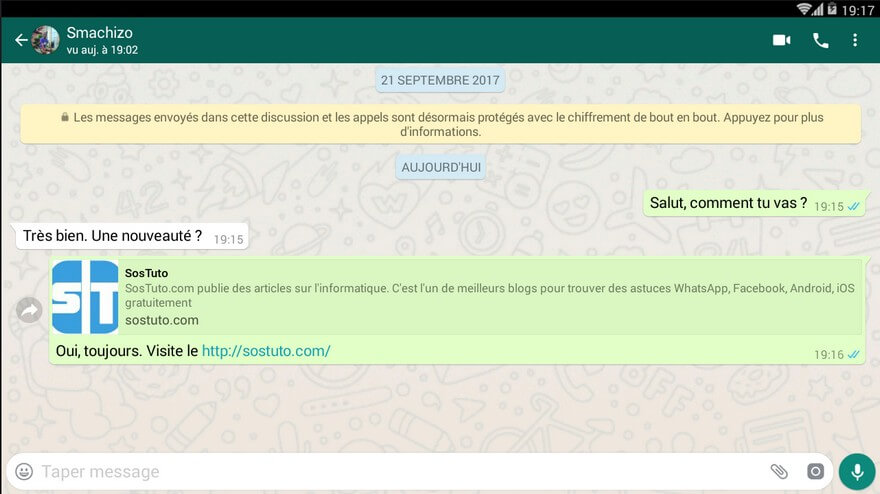 Conversation WhatsApp Comment supprimer un message WhatsApp envoyé par erreur