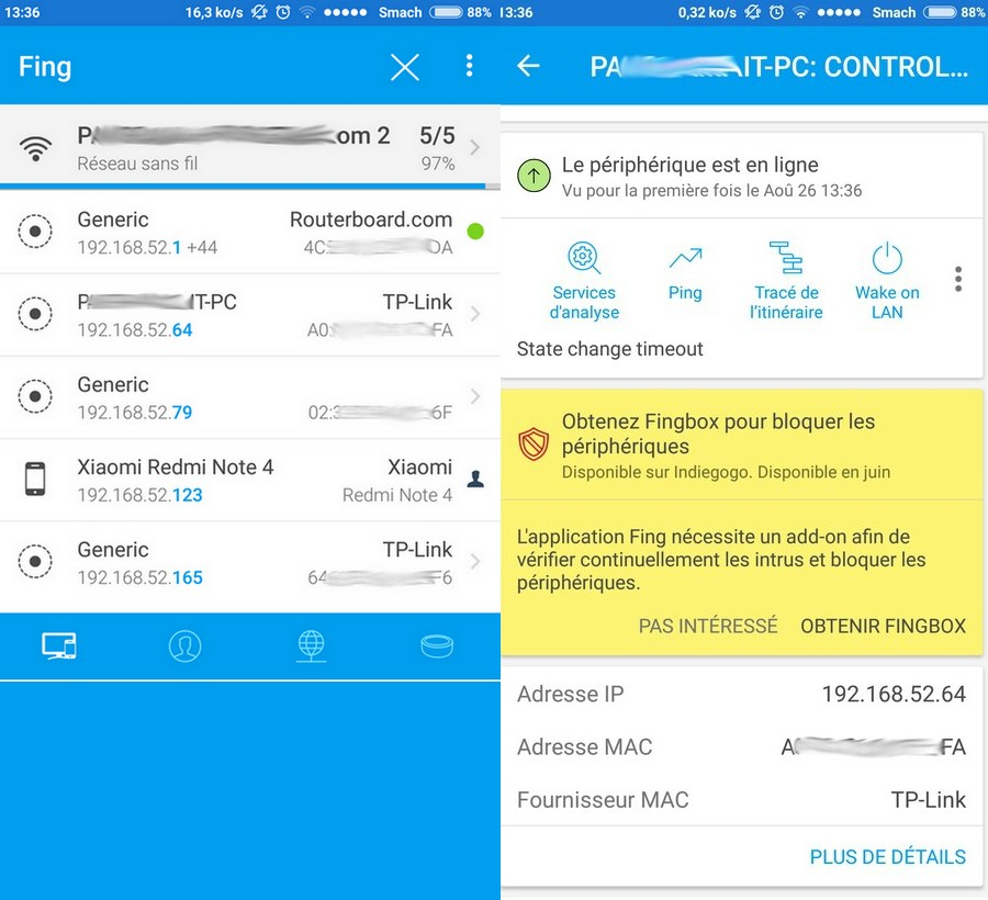 Fing Top 10 de Meilleures Applications de Piratage pour Android (Edition 2019)