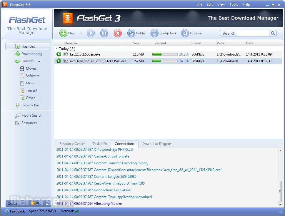 FlashGet Les Gestionnaires de téléchargement gratuits et alternatives à IDM pour Windows & Mac