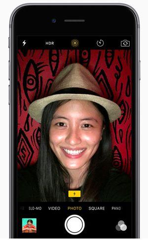 RetinaFlash iPhone 6s Comment prendre un jolie selfie la nuit avec la camera frontale sur iPhone ou Android