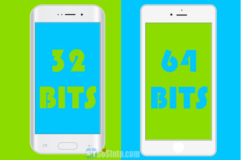 smartphone 32bit 64bit Processeur 32 ou 64-bit? Comment savoir lequel est utilisé sur votre smartphone