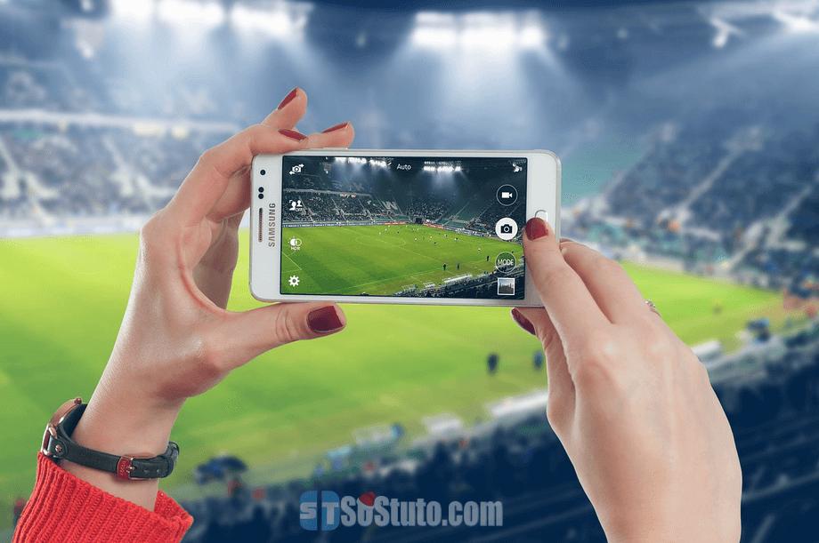 application android pour voir les matchs en direct