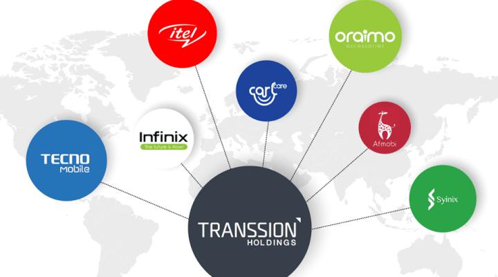 Tecno, iTel et Infinix appartiennent à la même société : TRANSSION HOLDINGS