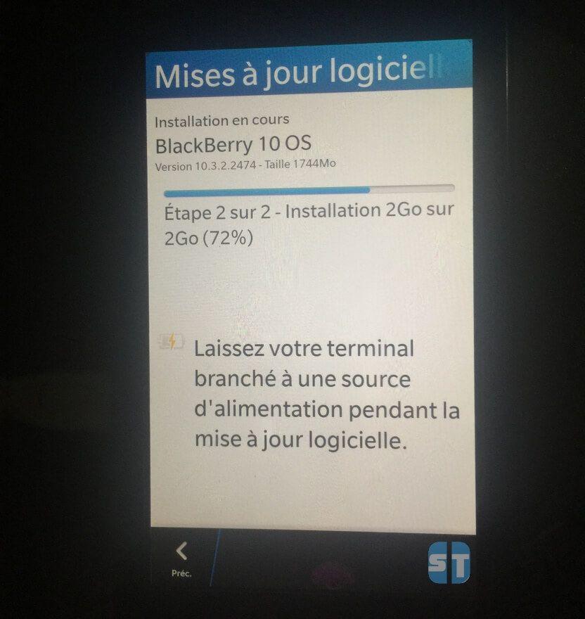 BlackBerry 10 Mise à jour logicielle Comment continuer d'utiliser WhatsApp sur BlackBerry 10 en 2018