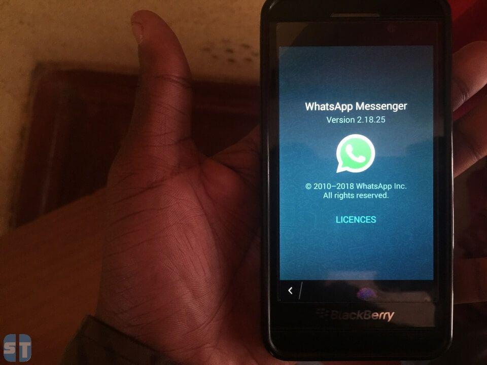Installer WhatsApp sur BlackBerry 10 Comment continuer d'utiliser WhatsApp sur BlackBerry 10 en 2018