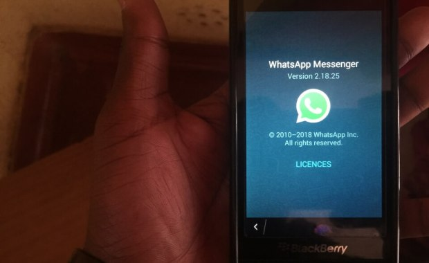 Installer WhatsApp sur BlackBerry 10 Comment continuer d'utiliser WhatsApp sur BlackBerry 10 en 2018