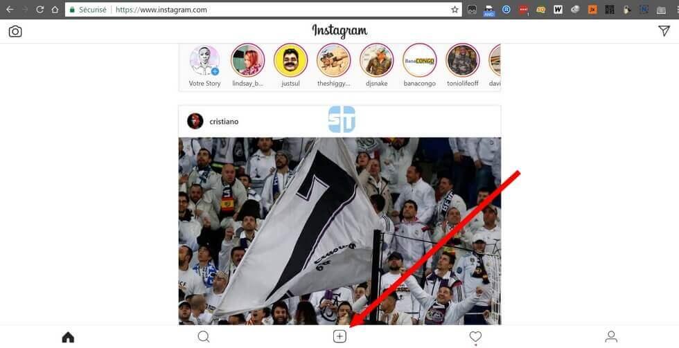Accueil Instagram sur PC Comment Publier une Photo sur Instagram depuis un PC en 2019