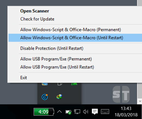 Allow Windows Script Office Macro Comment activer l'accès à Windows Script Host sur Windows 10/8/7