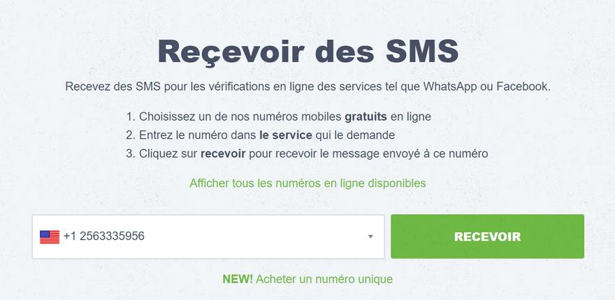 My Trash Mobile Les meilleurs sites pour recevoir des SMS en ligne avec un numéro virtuel
