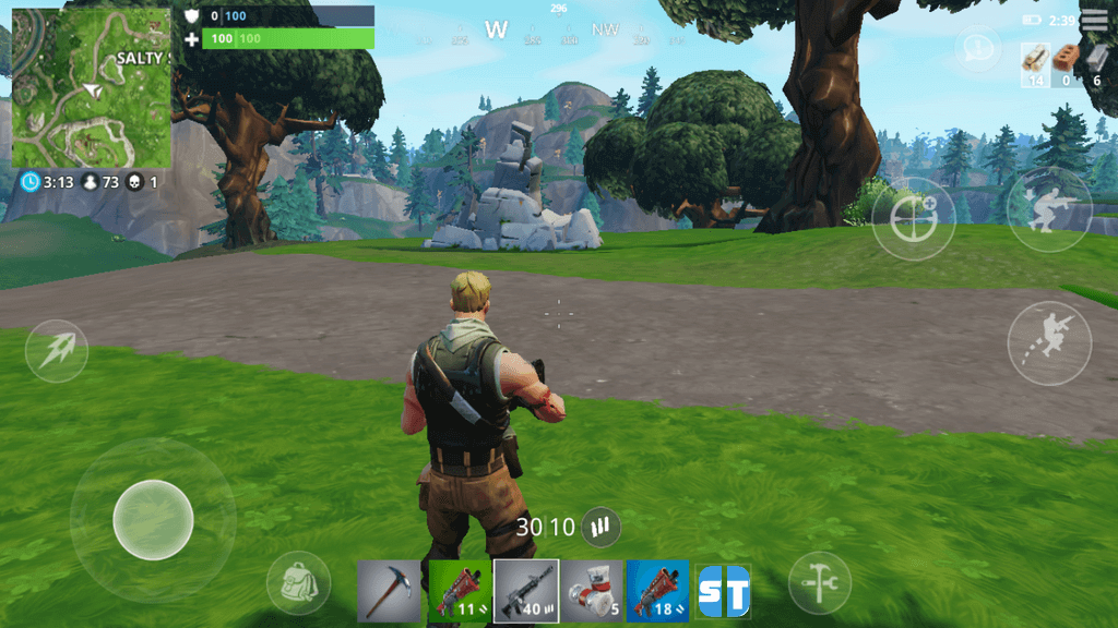 Comment Jouer A Fortnite Battle Royale Sur Mobile Ios