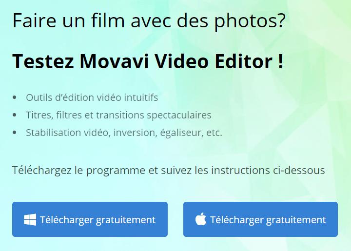 telecharger movavi video editor Comment faire un montage vidéo gratuit avec des photos et une musique