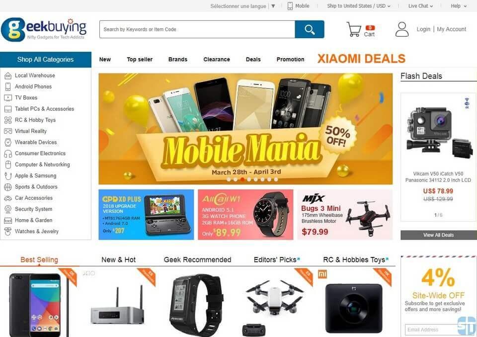 GeekBuying Mon avis sur GeekBuying : Est-ce un site chinois fiable ?
