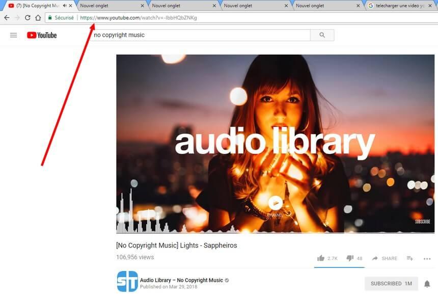 No copyright music Comment convertir ou télécharger une vidéo YouTube en mp3 sans logiciel