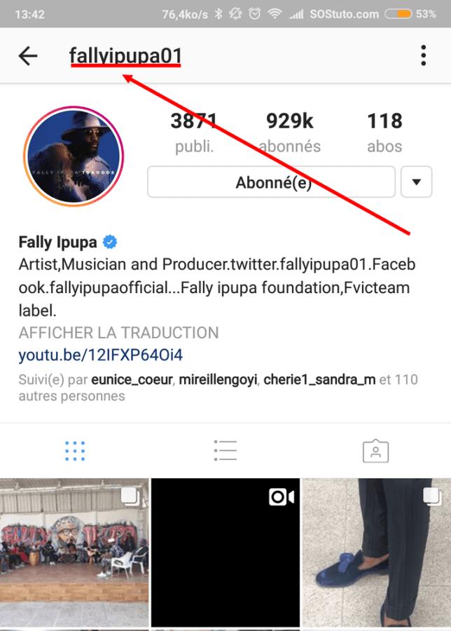 profil instagram fally ipupa 644x900 Comment Télécharger la Photo de Profil Instagram pour la Voir en grand