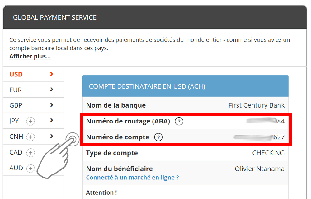 Compte Bancaire Payoneer Comment récupérer l'argent PayPal dans n'importe quel pays (non supporté par le virement PayPal)
