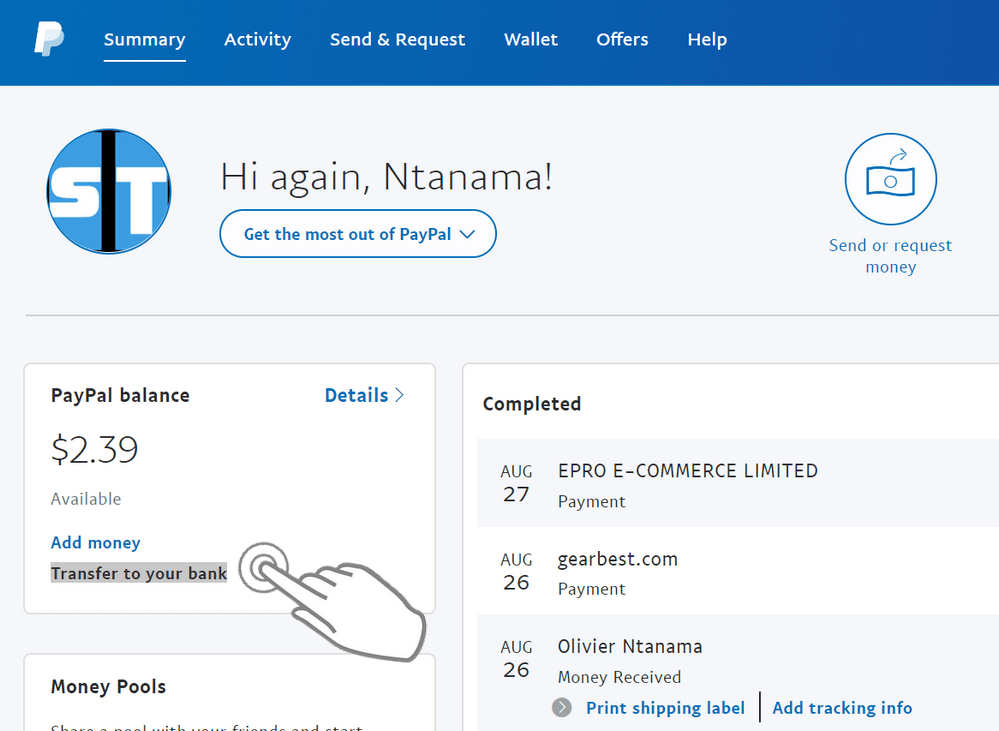 Transferer argent PayPal vers Payoneer Comment récupérer l'argent PayPal dans n'importe quel pays (non supporté par le virement PayPal)