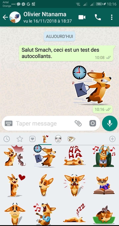 envoyer stickers WhatsApp Comment Télécharger & Envoyer des Stickers sur WhatsApp