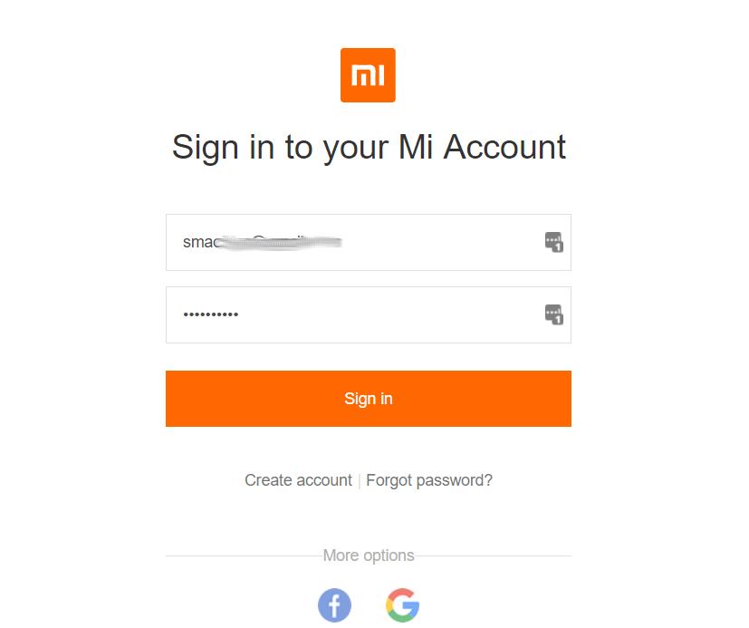Connexion compte Mi Comment Déverrouiller le Bootloader de tout Xiaomi