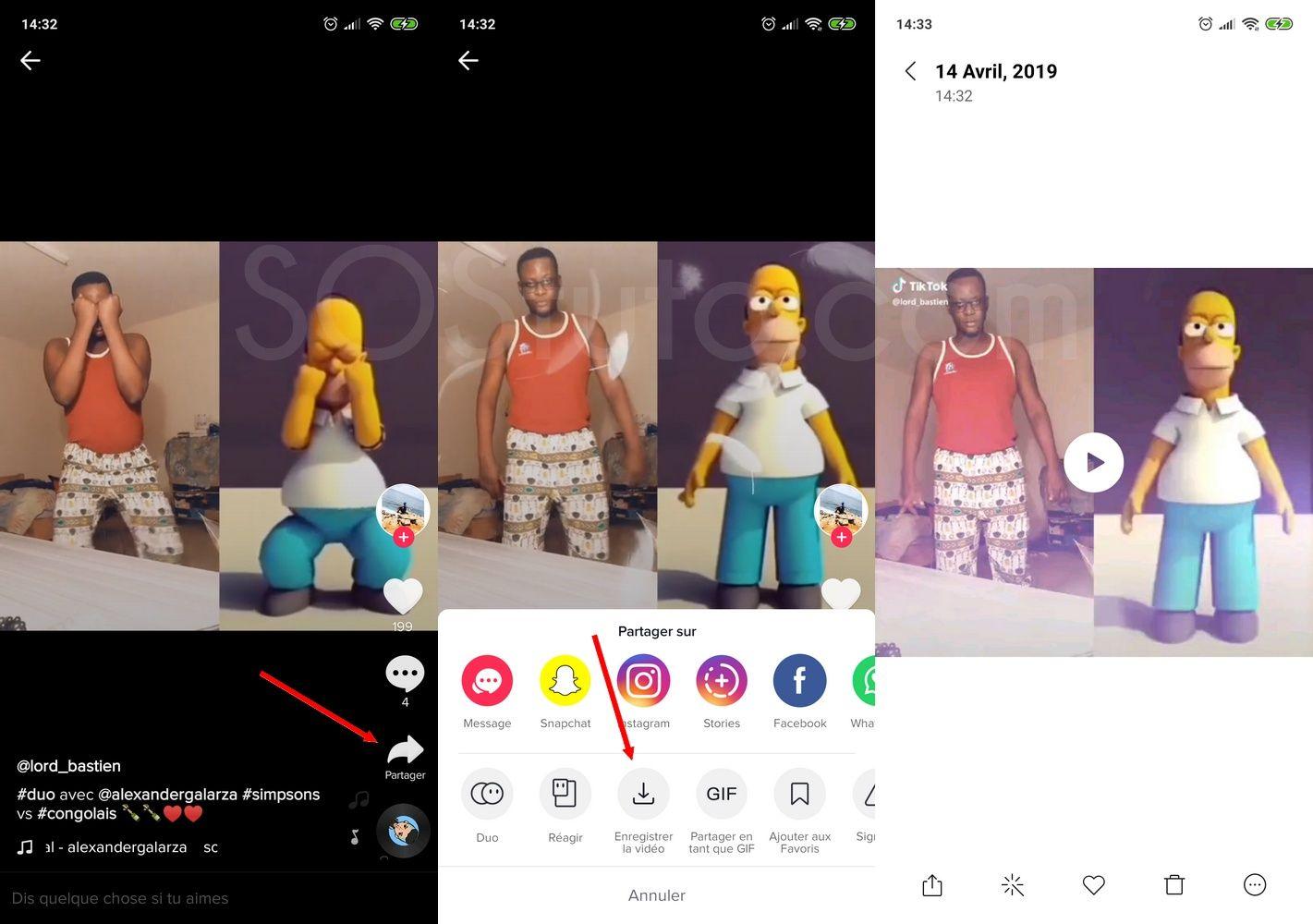 Telecharger video TikTok Télécharger une vidéo Tik Tok (Musical.ly) sur iPhone, Android ou PC