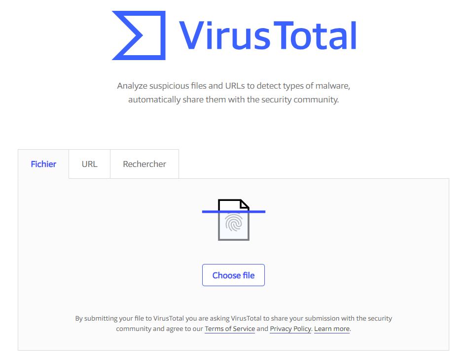 VirusTotal Les 10 Meilleurs Anti-virus en Ligne pour Scanner un Fichier ou une URL