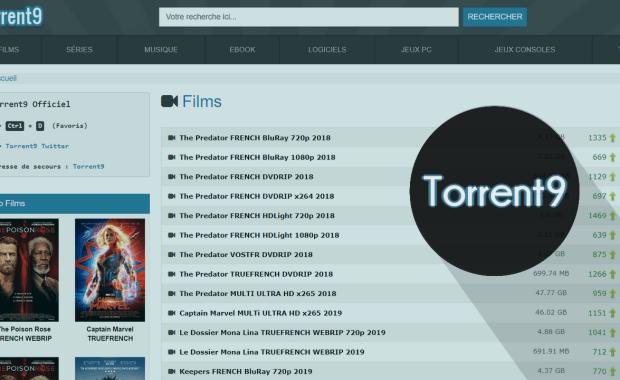Nouvelle Adresse Torrent9 Proxy Nouvelle Adresse Torrent9 – 8 Meilleurs Sites Miroirs & Clones de Torrent9