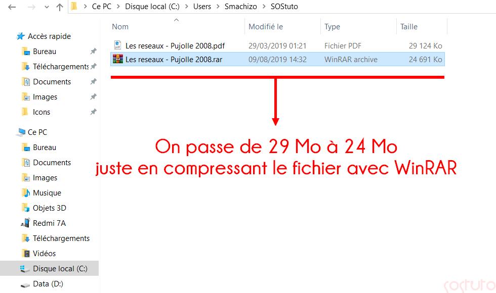 Compression avec WinRAR Comment Envoyer un Fichier Volumineux par E-mail? 5 Solutions