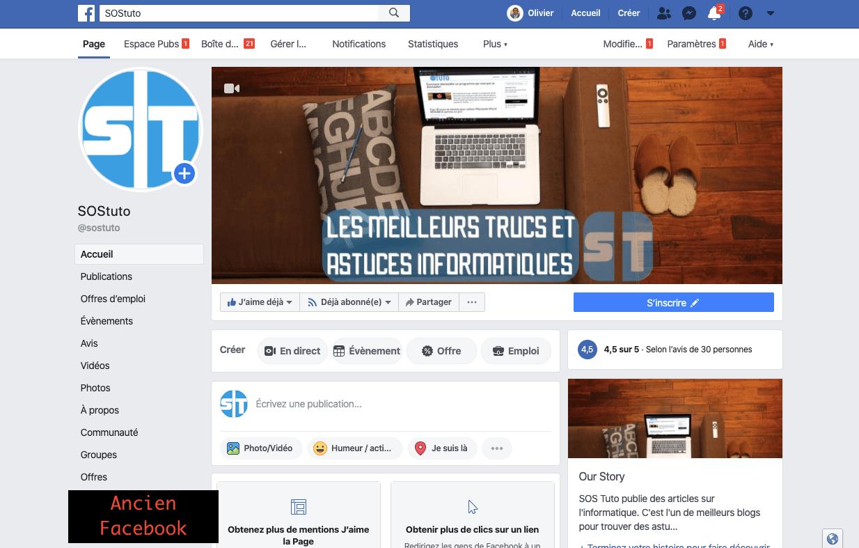 Ancien Facebook Comment Activer le Nouveau Design Facebook avec Mode Sombre