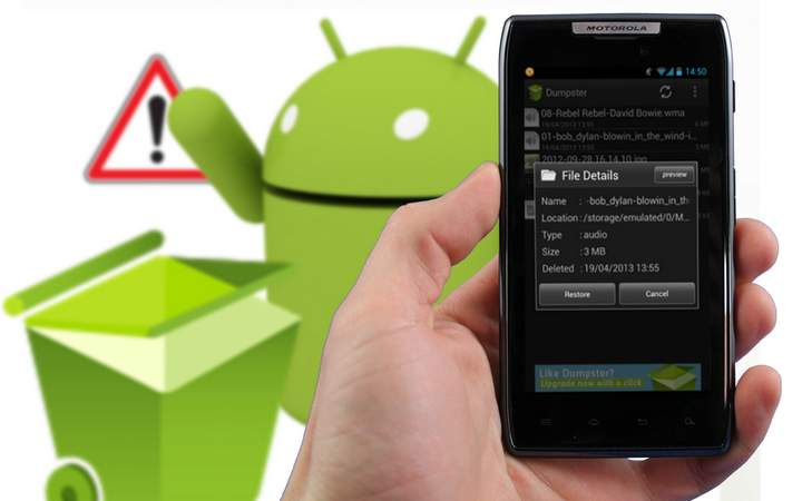 restaurer fichiers dans android Comment restaurer les fichiers effacés sur un android et iOS avec Dr. Fone