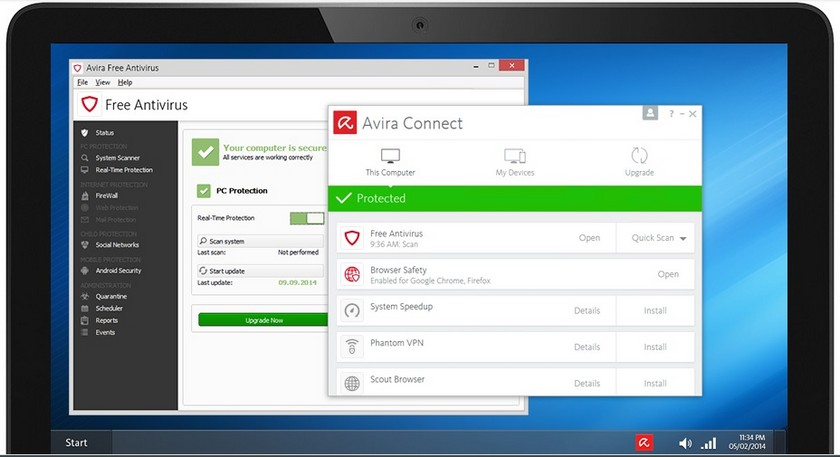 Avira Antivirus Gratuit Les 5 Meilleurs Antivirus Gratuits pour Windows et Mac