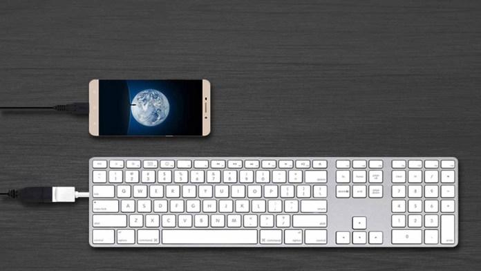 Clavier OTG USB OTG Android : Voici le Top 10 usages du câble OTG