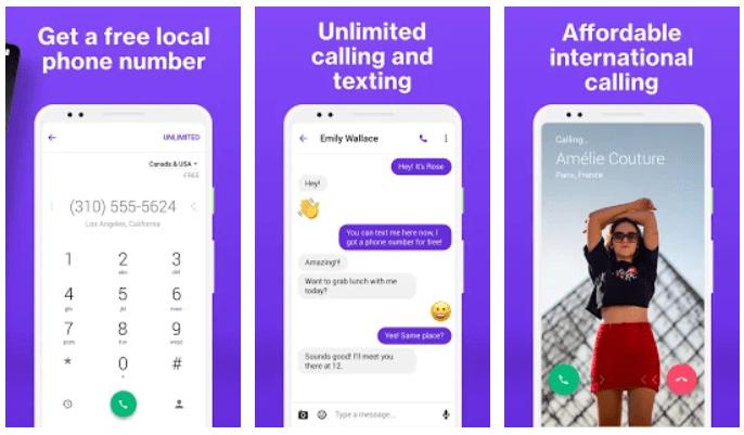 TextNow 1 Comment Avoir un Numéro Virtuel Gratuit Pour WhatsApp, OTP 🇺🇸