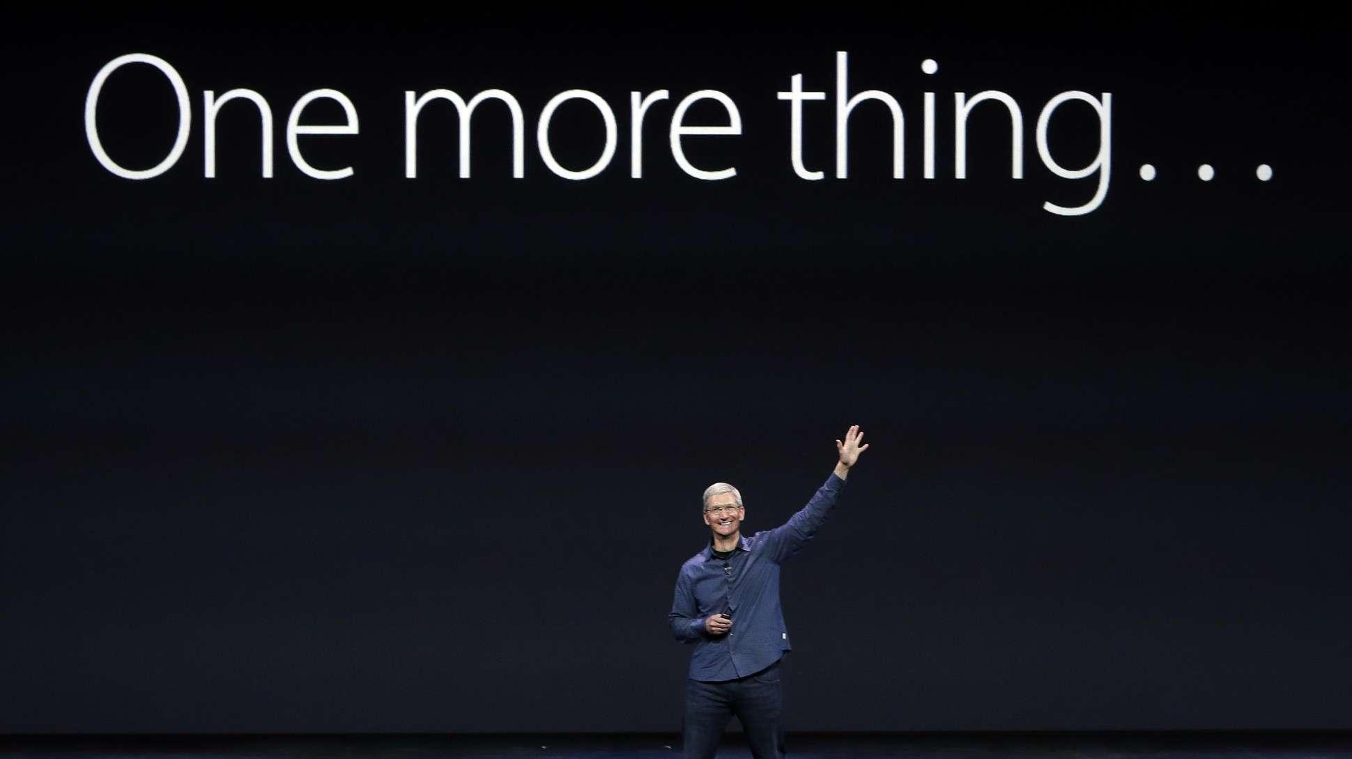 apple one more thing 2018 Les nouveaux iPhone 2018: Comment suivre la Keynote Apple 2018 en live
