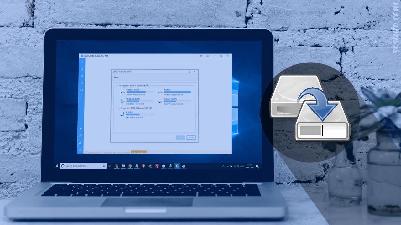 Cloner HDD vers SSD Comment Cloner un HDD vers un SSD sous Windows 10 gratuitement