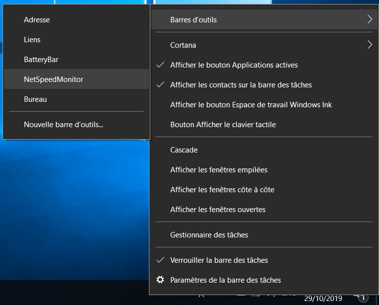 Activation NetSpeedMonitor Comment Afficher son Débit Internet dans la Barre des Tâches Windows 10
