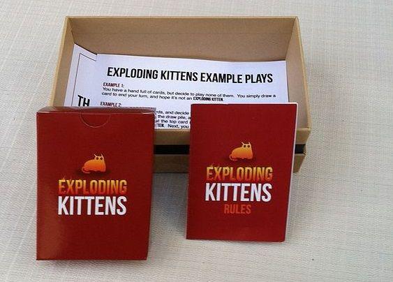 Exploding Kittens Les Meilleures Applications de Jeux de Cartes pour Android