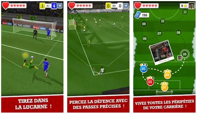 Score Hero Télécharger les Meilleurs Jeux de Foot pour Android Gratuitement