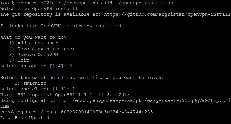 OpenVPN Updater Comment Mettre en Place Un VPN sur son VPS avec OpenVPN