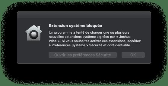 Autoriser Installation HoRNDIS: Partager La Connexion Internet de Son Android avec un Mac via USB