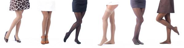 golf de compresie deasupra genunchiului în varicoză