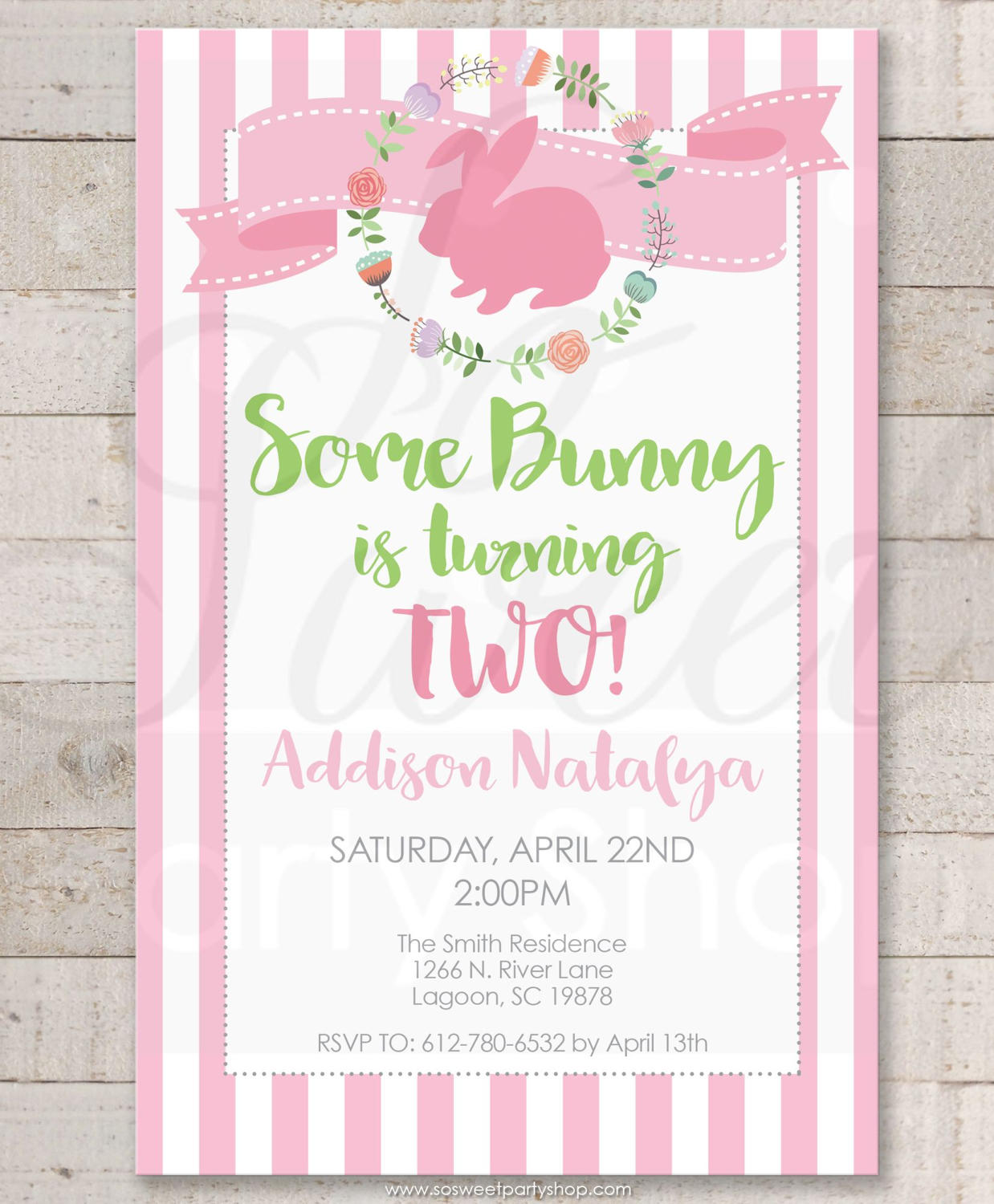 some bunny is one easter birthday invitations 1st birthday party invitations bunny birthday spring birthday invitations set of 10