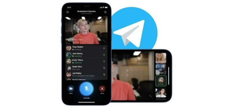 Telegram'dan Duyurdu, Görüntülü Grup Konuşmaları Yakında