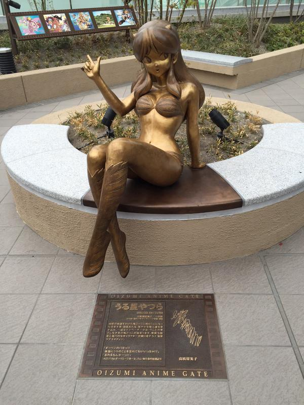 3 Life-size bronze anime statues unveiled in 'the birthplace of anime' in Nerima, Tokyo
