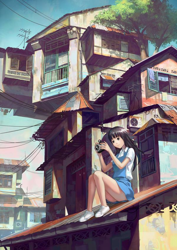 Anime Characters by Chong FeiGiap