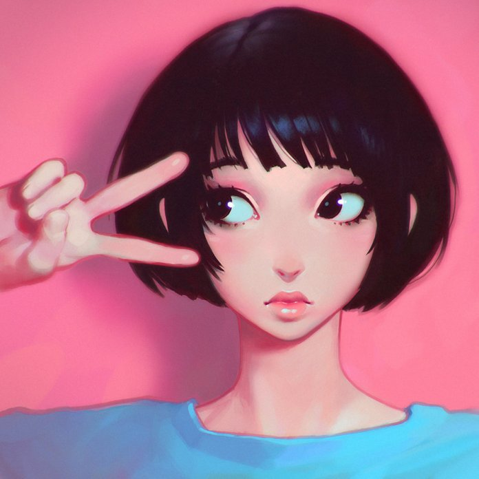 This Illustrator from Russia Makes the Best Anime Avatars on the Internet