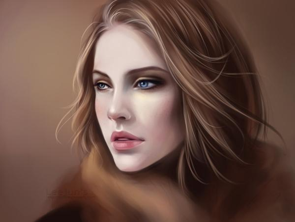 Digital Portraits by Lee chan