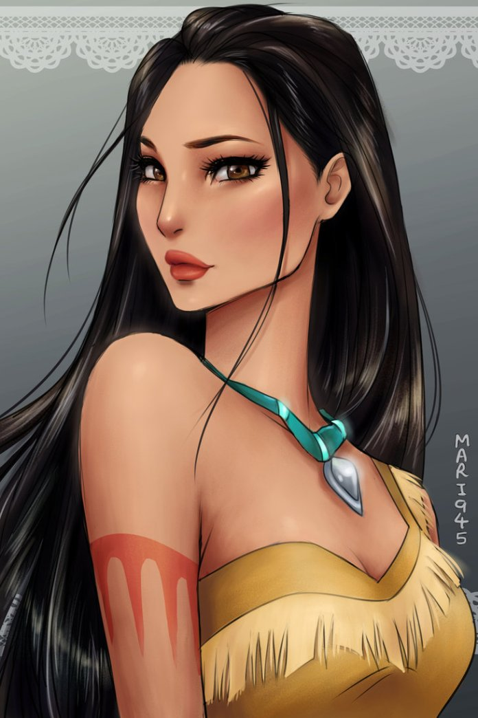 12 Disney Princesses in Anime Style Way Are More Beautiful Than You Think