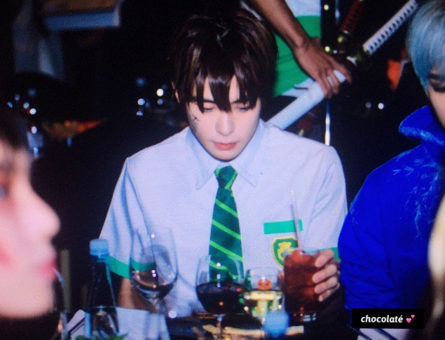 Korean fans swoon at NCT Jaehyun's 'Your Name' character cosplay for SMTOWN's Halloween party