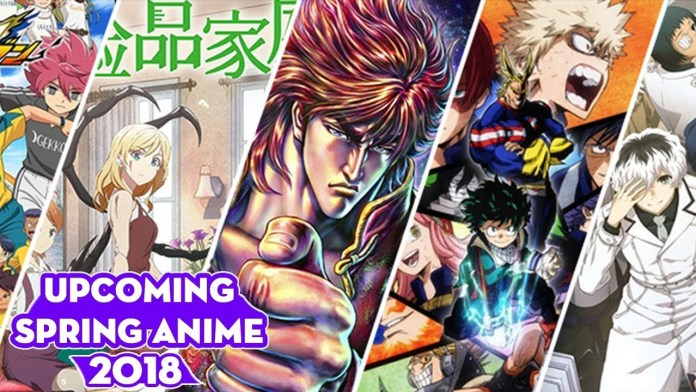 Spring Anime 2018 Full List, Release Dates