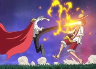 Relationship between Sanji and Luffy