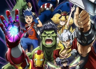 All New 'Marvel Future Avengers' Anime Announces Official Release Date
